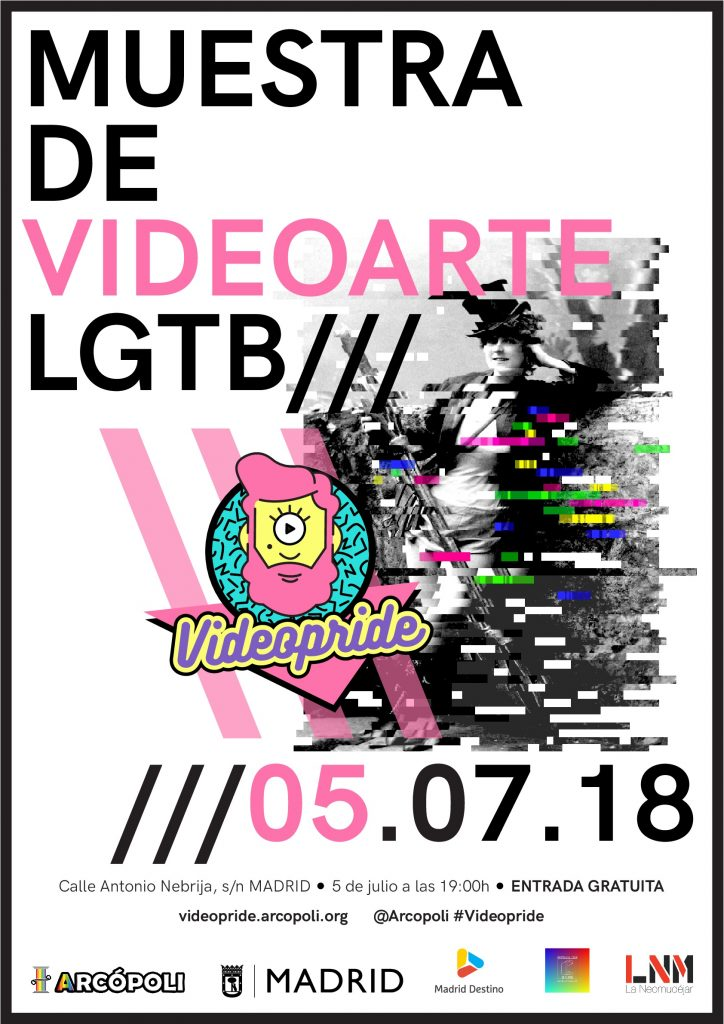 Videopride Poster 2018
